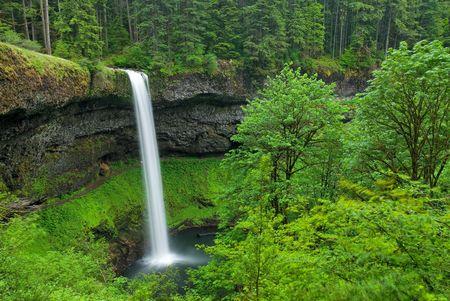 南滝、オレゴン州 写真素材