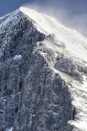 ノースフェイスとツイッゼルランド グリンデルヴァルトのアイガー山の頂上。