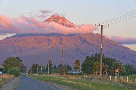 urbanized: Mt Egmond, a massive volcano close to urbanized areas