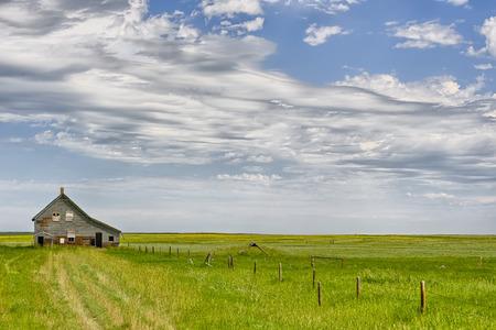 alberta: Abandoned home in Dorothy, Alberta, Canada