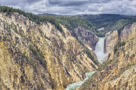 Yellowstone Canyon North, Yellowstone National Park, Wyoming, USA