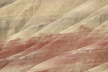 オレゴン州のペインテッドヒルズは、ジョンデイ化石ベッド国定記念物の3つのユニットの一つです。彼らはオレゴン州の七不思議の一つとしてリス