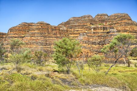 Colorful beehives in Bungle Bungles National Park, Northern Territories, Australia
