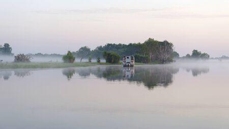 Early morning on the Yellow River, Kakadu National Park, Northern Territories, Australia Reklamní fotografie