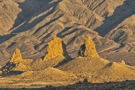 Trona Pinnacles in Sears Valley, California