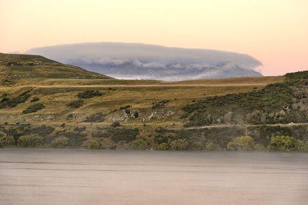 Lake Hayes in North Island, New Zealand