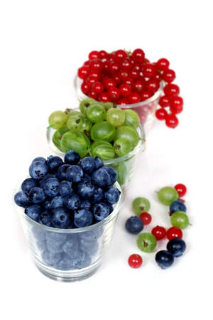 R G B - a delicious assortment of Red, Green, and Blue fruits (shallow dof)