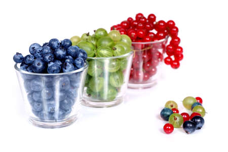 R G B - a delicious assortment of Red, Green and Blue fruits