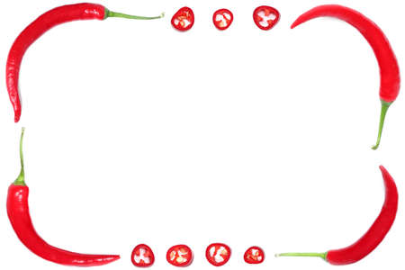 hot peppers: red hot chilli peppers