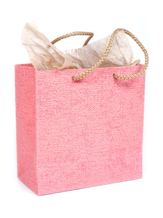 red gifts bag