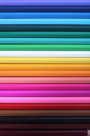coloured pencil abstract photo