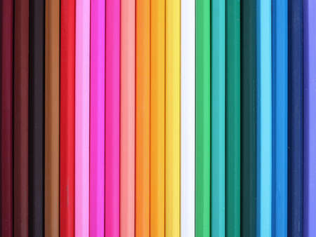 coloured pencil abstract Stock Photo