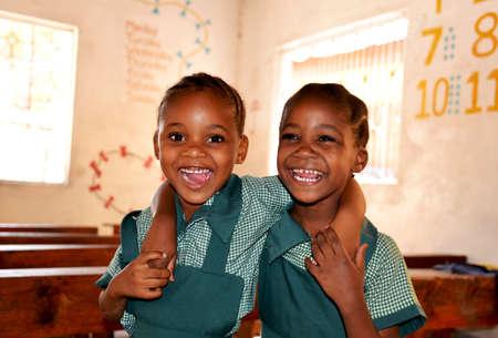 tanzania: Cute Schoolgirls at Primary School