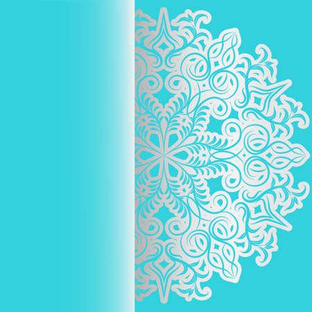 delicate: Delicate invitation card  Seamless background  Light pattern