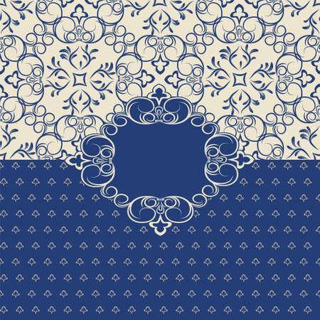 delicate: Delicate invitation card  Light pattern Illustration