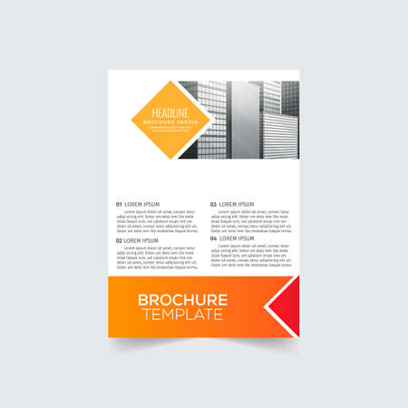 Background Brochure design template vector. Leaflet cover presentation. Layout . illustration. Flayers annual report.