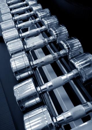 Studio shot of a weight training equipment photo