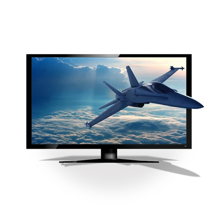 jet fighter: 3D TV