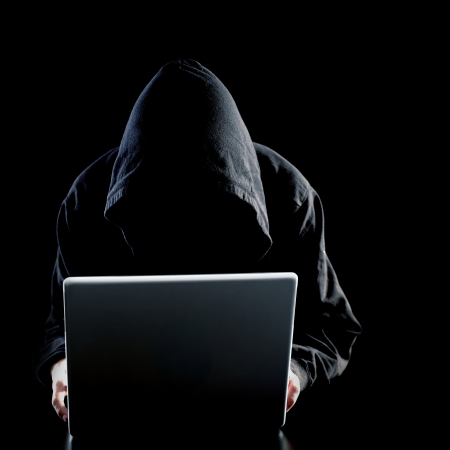 Computer hacker photo