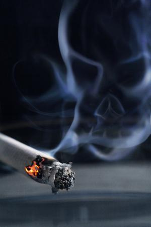 smoking kills: Smoking kills concept Stock Photo