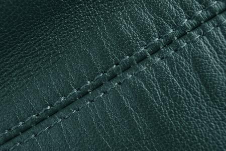 diagonal: Leather background, diagonal stitch