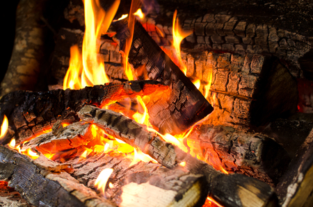 smoldering: Ember burning wood smoldering wood smoldering log