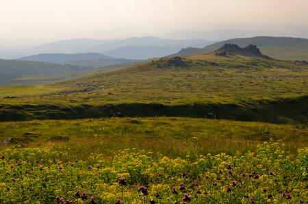 Vitosha national park during the day, Bulgaria