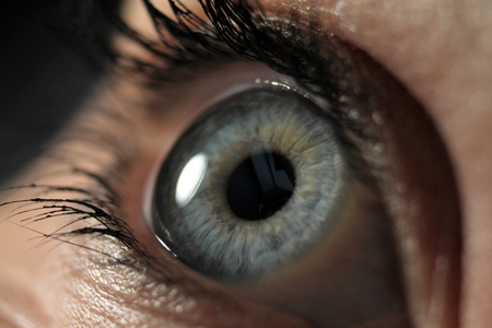 Closeup of eye Stok Fotoğraf