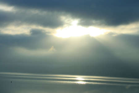 Sunlight Breaks Through. Stock Photo - 1312913
