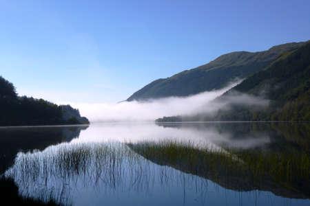 Mornin Mist Over the Loch