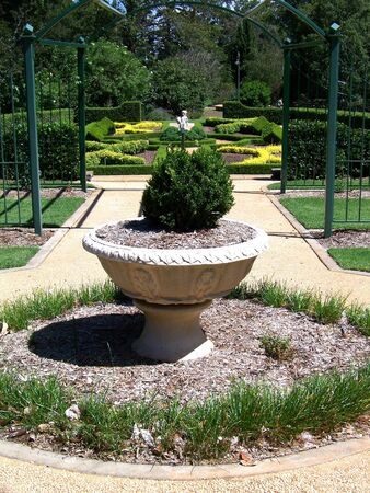 A section of Queens Park at Toowoomba, Queensland Australia.