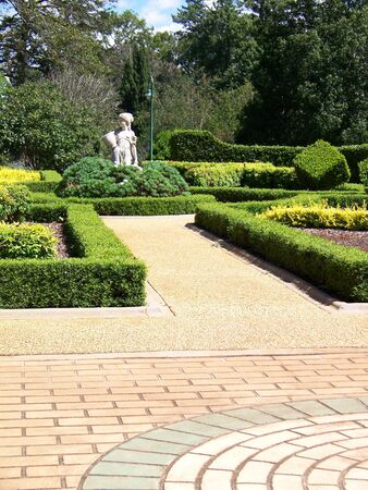 toowoomba: A section of Queens Park at Toowoomba, Queensland Australia.