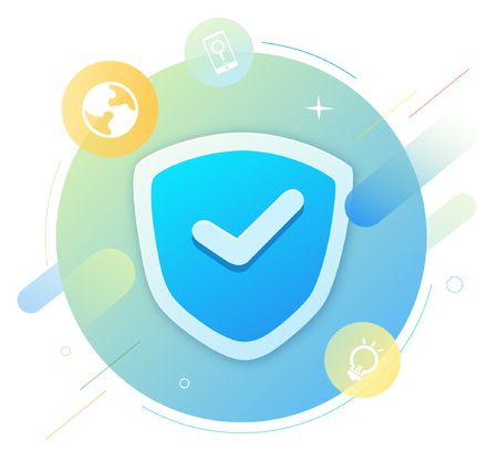 Shields for security Illustration