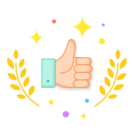 thumbs up for praise