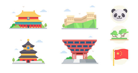 Chinese wind icon series