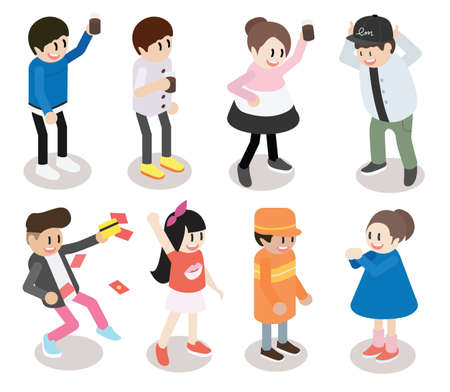 Cartoon characters series