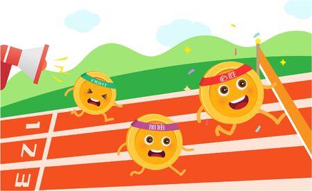 ゴールド コイン レース
