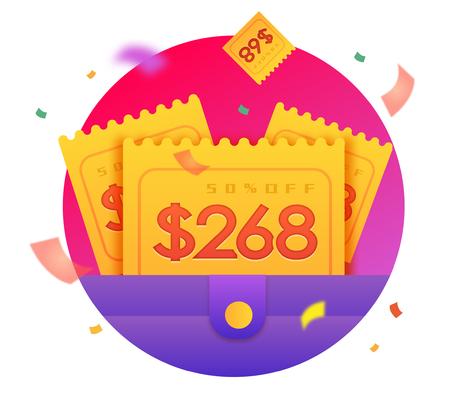 coupon illustration