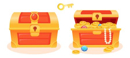 Treasure box key