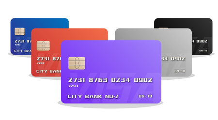 Credit card or bank card