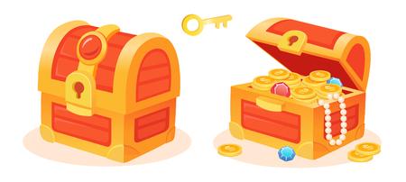 Treasure box treasure