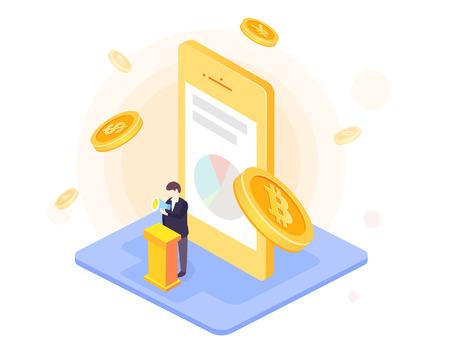 Bitcoin gold coin