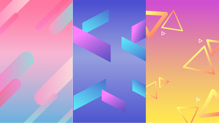 Template background abstract color