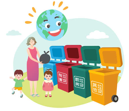 Waste sorting and environmental protection