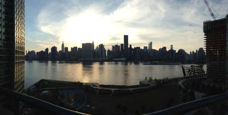 This is a photo I took right next to the Pepsi-Cola sign on Long Island City with panorama.