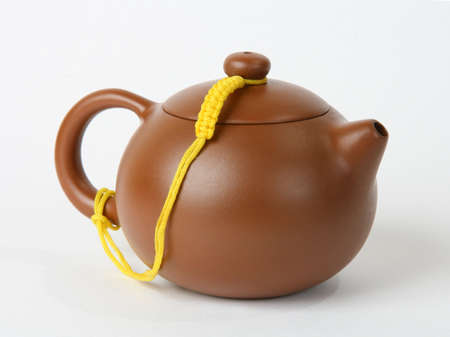 Teapot on a white background  isolated image