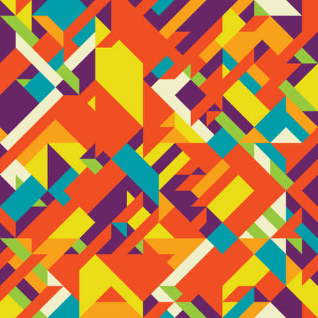 Background with decorative geometric and abstract elements. Vector illustration. Vector