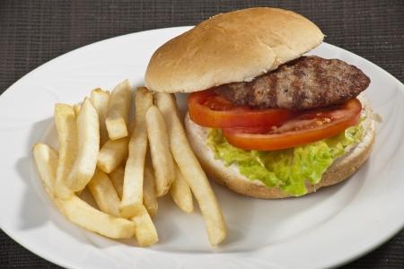 viandes et substituts: hamburger