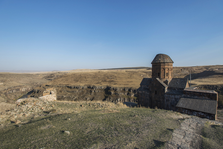 mentioned: Ani is a ruined and uninhabited medieval Armenian city-site situated in the Turkish province of Kars, near the border with Armenia. Armenian chroniclers such as Yeghishe and Ghazar Parpetsi first mentioned Ani in the 5th century AD.