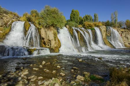 Muradiye waterfall  Turkey  photo